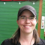 Nadine Knauer. Chefin vom Knauer-Team.