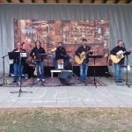 Die Gruppe BR7 begleitete den Nachmittag, mit musikalischen Einlagen.